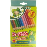 American Educational JOLLY X-BIG DELTA COLORED PENCIL SET OF 12