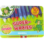 American Educational Jolly Superwaxies Watersoluble Crayons Tin Box of 10