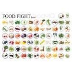 American Educational Do-Body IQ-Food Fight Mat