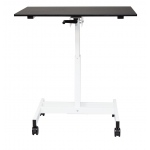 Luxor Single Column Stand Up Desk: 40″