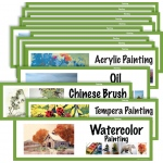 American Educational Art Display Cards-Painting
