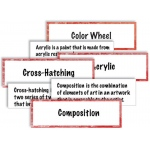 American Educational Art Vocabulary Cards