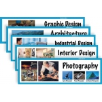 American Educational Art Display Cards-Careers in Art