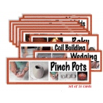 American Educational Art Display Cards-Ceramics