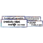 American Educational Artist Quotes Display Cards