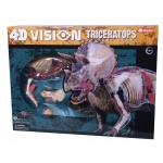 Tedco Science Toys 4D Vision Triceratops Model