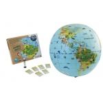 "Tedco Science Toys Animal Quest - 20"" Globe & Game"
