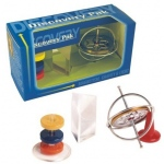 Tedco Science Toys Discovery Pak/Gyroscope,Prism,Magnets