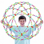 Tedco Science Toys Hoberman Sphere - Rainbow