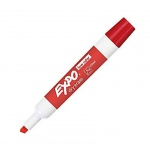 Expo Dry Erase Marker Bullet Tip Red