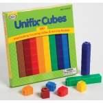 Didax 100 Unifix Cubes in 10 Assorted Colors!