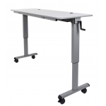 "Luxor 60"" Adjustable Flip Top Table"