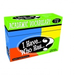 Teacher Created I Have Who Has Games: Academic Vocabulary, Grades 1-2