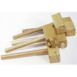 Wooden Clay Hammers 5/pk