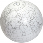 Scott Resources & Hubbard Scientific Clever Catch Ball: Writable Globe
