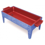 "ChildBrite Sand and Water Activity Center: 18"" Toddler, Red Liner, No Casters"