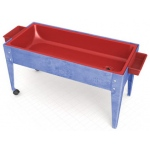 "ChildBrite Sand and Water Activity Center: 24"" Youth, 2 Caster, Red Liner"