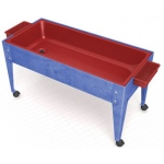 "ChildBrite Sand and Water Activity Center: 24"" Youth, 4 Caster, Red Liner"