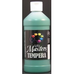 Little Masters Green 16oz Washable Paint
