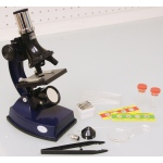 Elenco 100x, 300x, 600x Microscope Set with Light and Projector