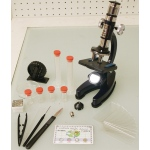 Elenco 100x, 900x Zoom Die-cast Microscope Set in Hand Carrying Case