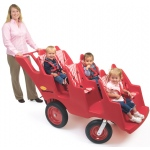 Never Flat Fat Tire Bye-Bye Baby Buggy: 6 Passenger