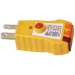 Elenco AC Receptacle Tester with Built-in GFCI Tester