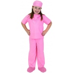 Aeromax Junior Doctor Uniform: Pink, Child Size for 2 to 3 Years