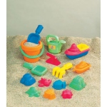 15-Piece Toddler Sand Assortment