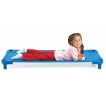 Angeles Value Line Standard Cot: Pack of 4, Assembled