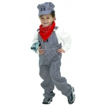 Aeromax Junior Train Engineer Suit: Size for 2 to 3 Years