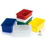 "Angeles Value Line Cubbie Tray: Yellow, 11"" Length"