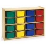 Angeles Value Line 16 Cubbie Storage - With Trays