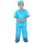 Aeromax Junior Doctor Uniform: Blue, Size for 2 to 3 Years