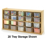 Angeles Value Line 16-Tray Storage with Opaque Trays