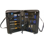 Elenco Basic Technician Tool Kit with Standard Iron: 15 Piece