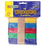 Craft Sticks Assorted Colors