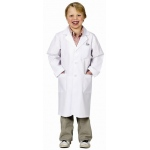 Aeromax Junior Lab Coat: 3/4 Length, Size for 2 to 3 Years