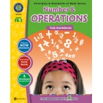 Classroom Complete Book: Number & Operations Task Sheet, Grade PK,K,1,2