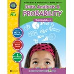 Classroom Complete Book: Data Analysis & Probability Task Sheets, Grade PK,K,1,2