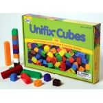 Didax 300 Unifix Cubes in 10 Assorted Colors!