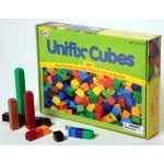 Didax 500 Unifix Cubes in 10 Assorted Colors!