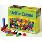 Didax 1000 Unifix Cubes in 10 Assorted Colors!