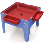 "ChildBrite Mites/Sensory Table: 18"" H Toddler Mite with Red Tub"