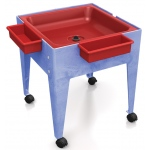 "ChildBrite Mites/Sensory Table: 24"" H Youth Mite with Red Tub"