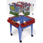 ChildBrite Youth 4 Station Space Saver Easel