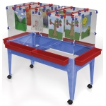 ChildBrite Youth 6 Station Space Saver Easel