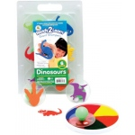 Center Enterprise Ready2Learn Giant Stampers: Dinosaurs, Pack of 6