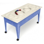 ChildBrite Youth Table with Route Board & Red Ball Express Train