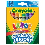 Crayola Washable Crayons 16ct Large